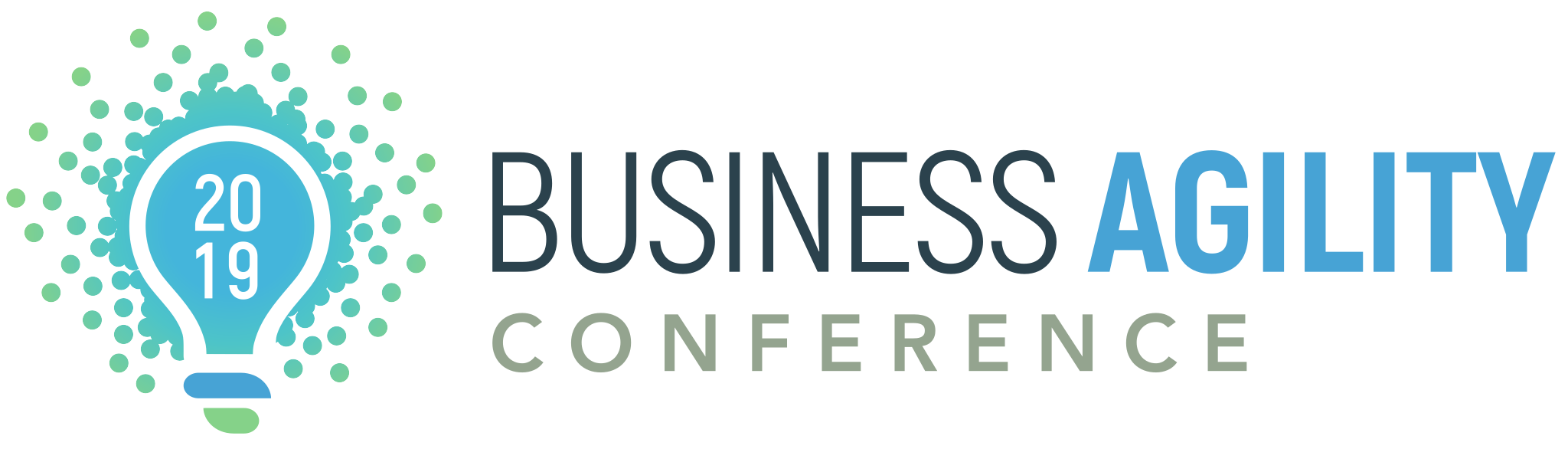 Business Agility Conference 2019 Logo Horizontal