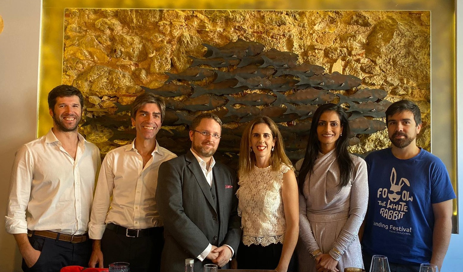 Photo of Business Agility Institute founder and CEO Evan Leybourn and others