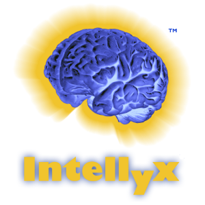 Graphic of a brain with Intellyx underneath