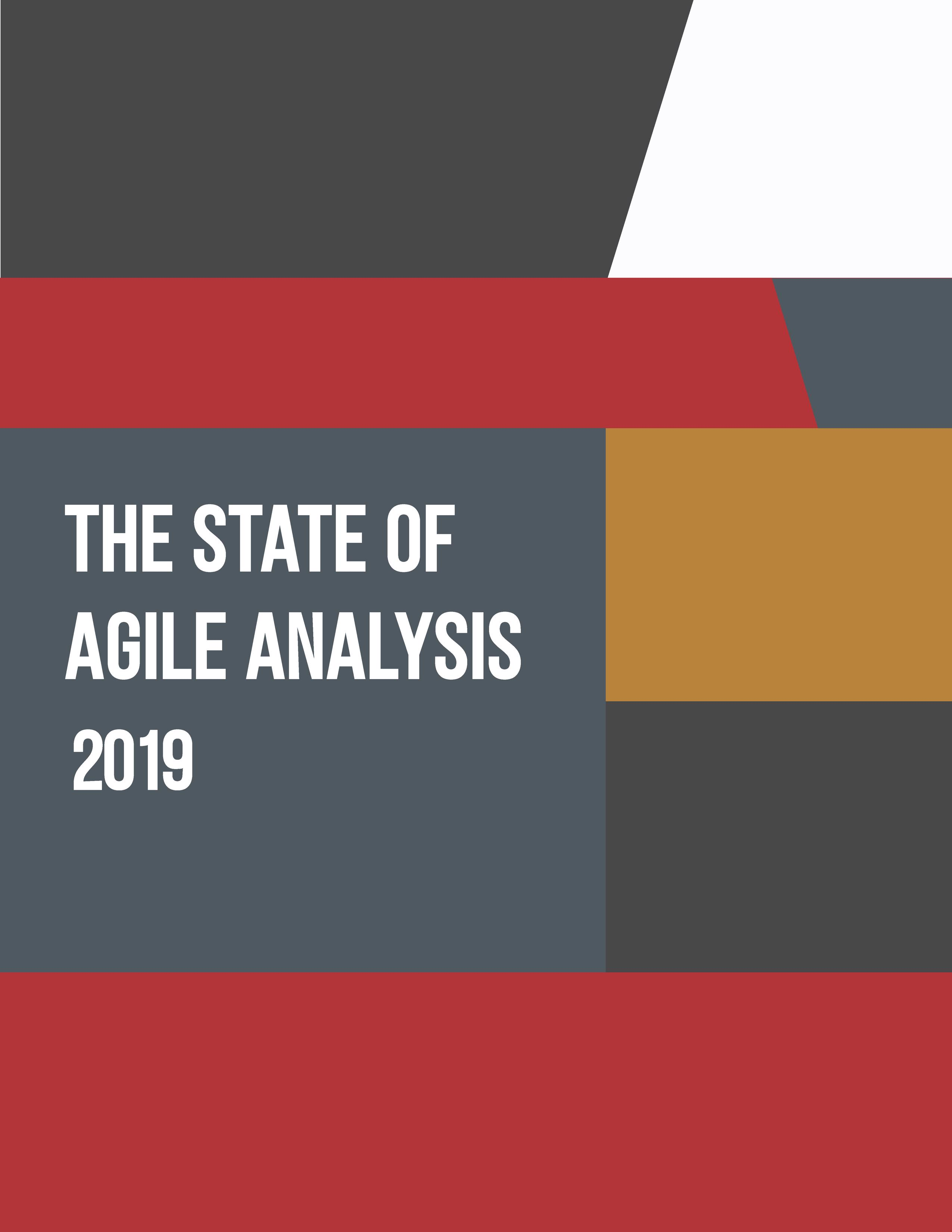 The State of Agile Analysis 2019