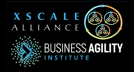 XSCALE Alliance and Business Agility Institute logo